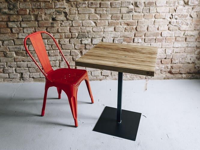 stol drewniany blotniak