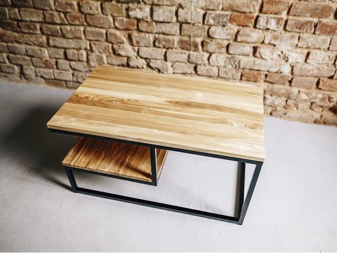 stolik kawowy drewniany kulik