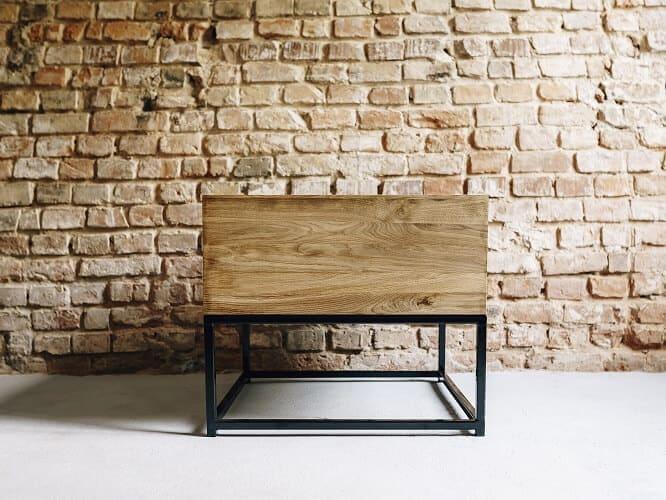 stolik kawowy drewniany myszolow