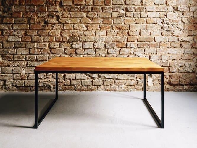 stolik kawowy drewniany rudzik