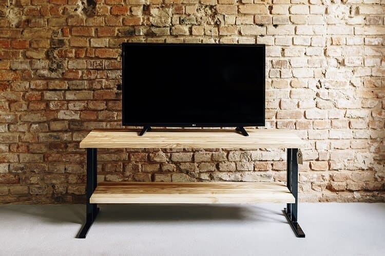 stolik rtv drewniany bocian